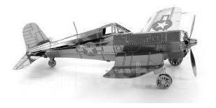 rompe cabezas metálico en 3 dimensiones - avioneta