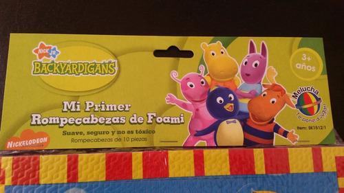 rompecabeza de foami backyardigans juguete para niños