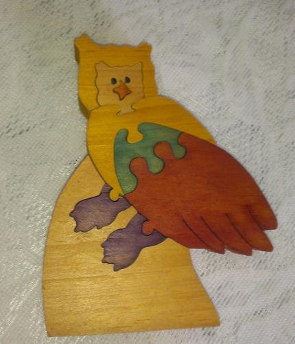 rompecabeza didactico de madera