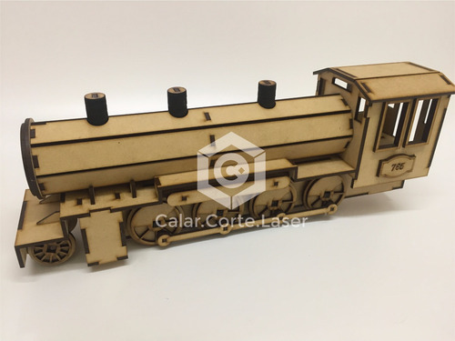 rompecabeza puzzle tren 3d maqueta para armar