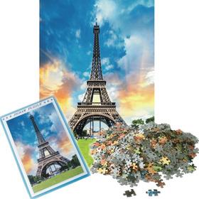 Rompecabezas 1000 Piezas Torre Eiffel 75x50cm