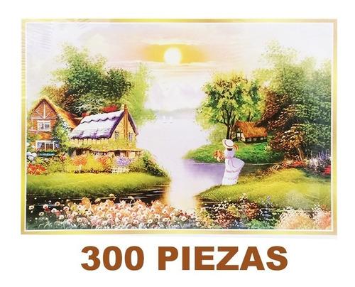 rompecabezas 300 piezas varios paisajes y diseño solo envio