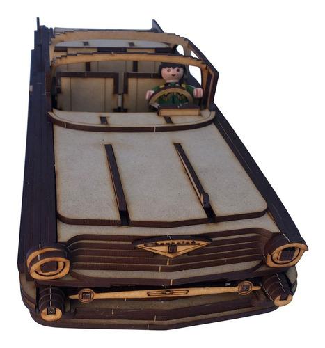 rompecabezas 3d auto chevrolet bel air 1957 maqueta