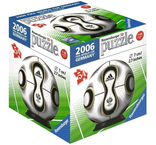 rompecabezas 3d balón adidas alemania 2006 ravensburger