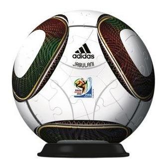 rompecabezas 3d balón adidas sudáfrica 2010 ravensburger