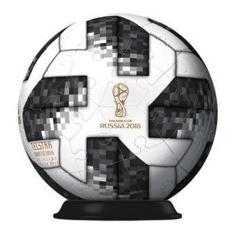 rompecabezas 3d balón oficial adidas rusia 2018 ravensburger