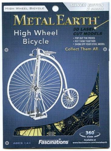 rompecabezas 3d bicicleta antigua metal fascinations mms087