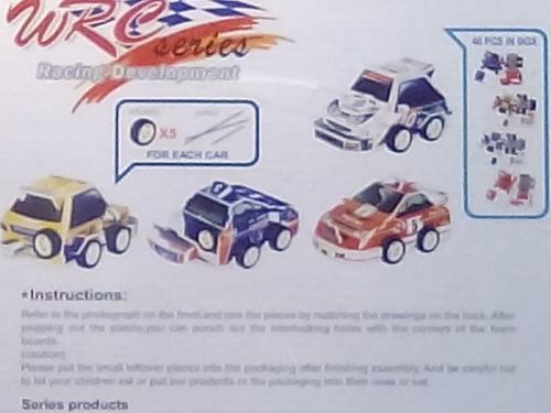 rompecabezas 3d cubicfun autos de carreras (serie c)
