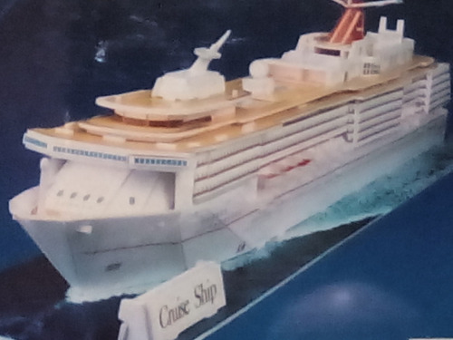 rompecabezas 3d cubicfun barco crucero (serie c )