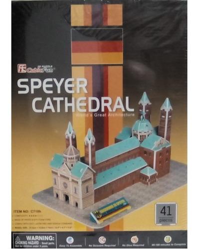 rompecabezas 3d cubicfun catedral de speyer (serie c )