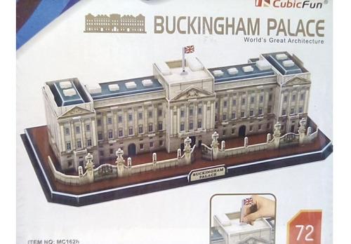 rompecabezas 3d cubicfun el palacio de buckingham londres