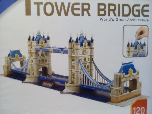 rompecabezas 3d cubicfun el puente de londres (serie mc)