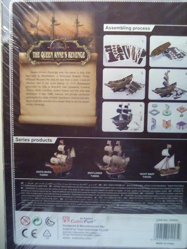 rompecabezas 3d cubicfun la venganza de la reina ana  (serie