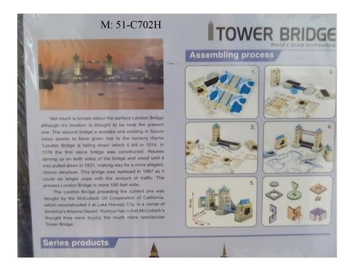 rompecabezas 3d cubicfun puente de londres (serie c mediano)