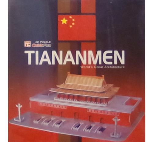 rompecabezas 3d cubicfun tian an men beijing china(serie c )