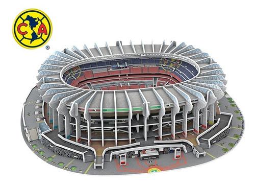 rompecabezas 3d estadio azteca club america méxico