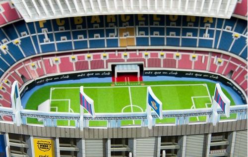 rompecabezas 3d estadio f.c. barcelona nanostad oficial