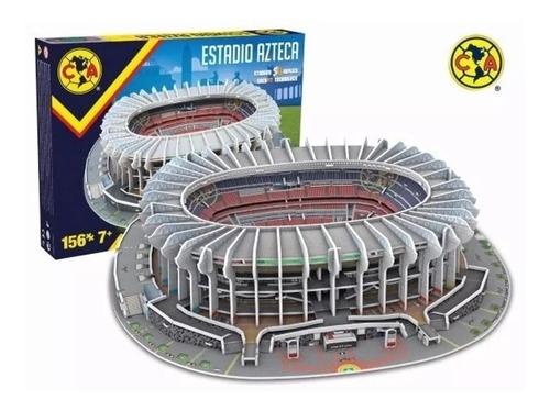 rompecabezas 3d nanostad estadio azteca club fútbol américa