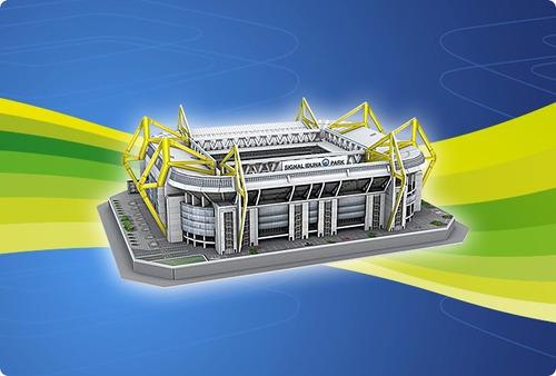 rompecabezas 3d nanostad estadio club bv borussia dortmund