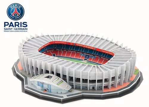 rompecabezas 3d parc des princes paris saint-german nanostad