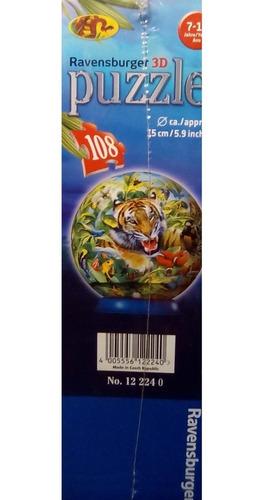 rompecabezas 3d ravensburger plástico tigre (202-r224)