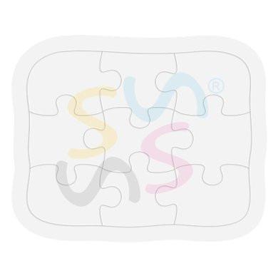 rompecabezas 9 piezas importado estampar sublimable sublimar