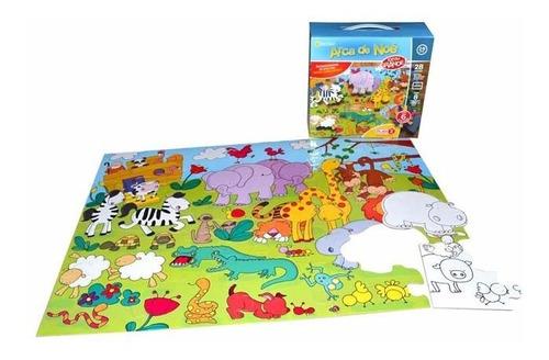 rompecabezas arca de noe juegos didacticos 28 piezas grandes