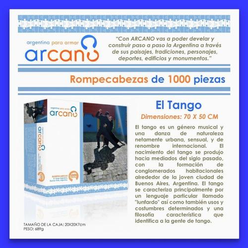 rompecabezas arcano 1000 piezas tango microcentro lelab