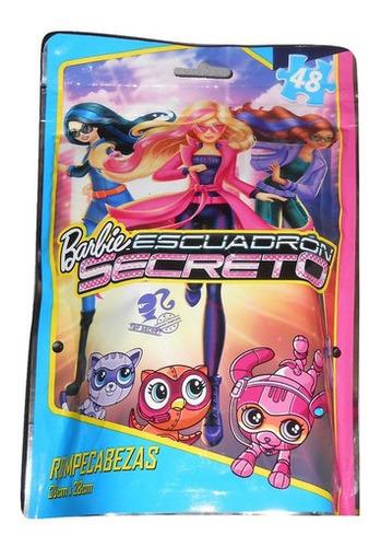 rompecabezas barbie escuadrón secreto
