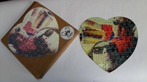 rompecabezas corazón personalizados -envíos a todo el pais