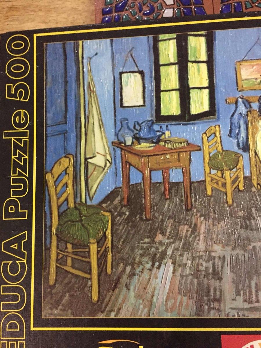 Rompecabezas Cuarto De Vincent Van Gogh 500piezas - Bs. 4.200,00 en ...