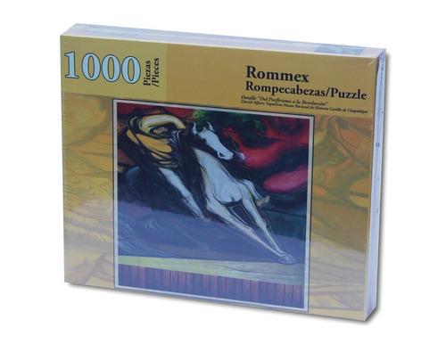 rompecabezas de 1000 piezas: detalle del porfirismo a la