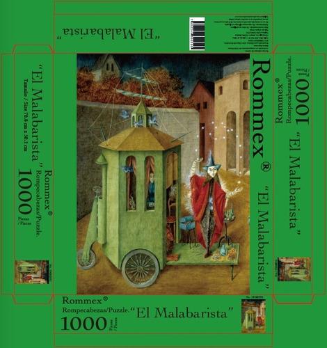 rompecabezas de 1000 piezas: el malabarista