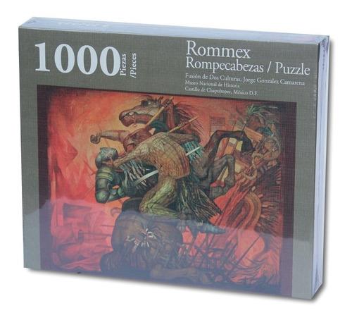 rompecabezas de 1000 piezas: fusión de dos culturas por