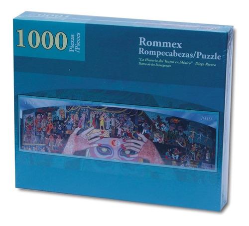 rompecabezas de 1000 piezas: historia del teatro en méxico