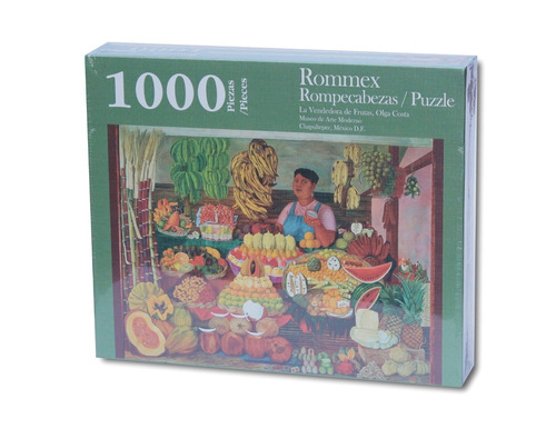 rompecabezas de 1000 piezas: la vendedora de frutas por