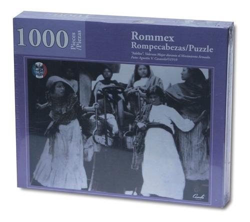 rompecabezas de 1000 piezas: las adelitas de la revolución
