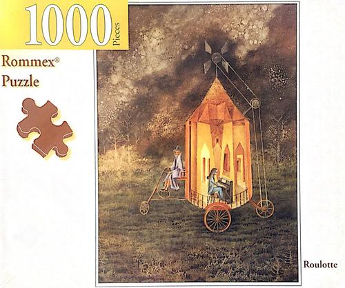 rompecabezas de 1000 piezas: roulotte por remedios varo
