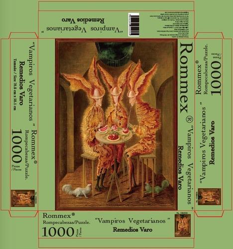 rompecabezas de 1000 piezas: vampiros vegetarianos