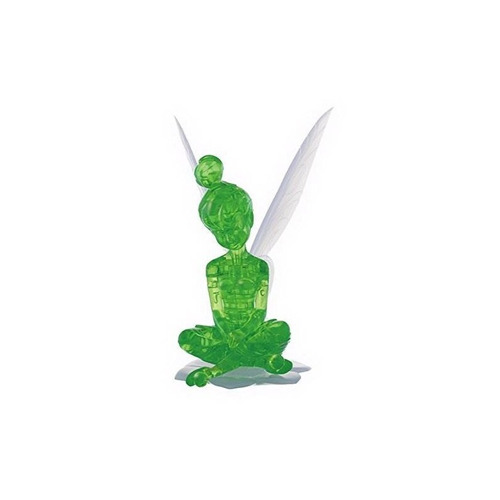 rompecabezas de cristal 3d original - tinker bell