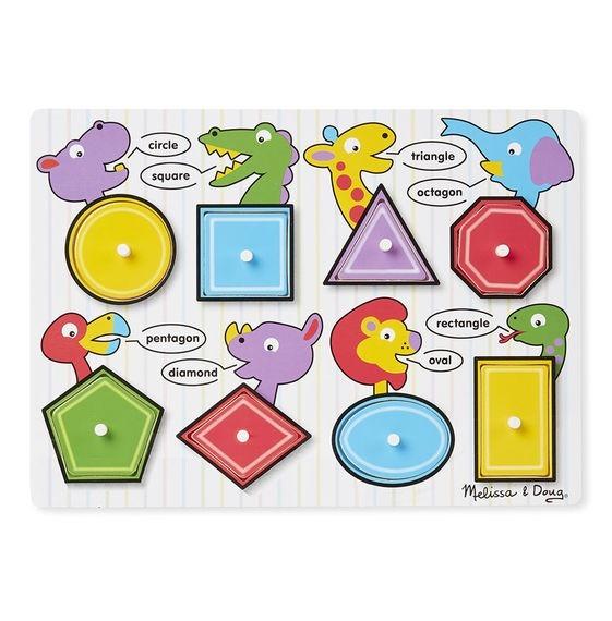 Rompecabezas De Figuras Geometricas 15000 En Mercado Libre