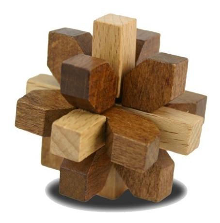 rompecabezas de madera true genius curated collection set 5