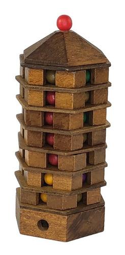 rompecabezas de madera true genius pagoda