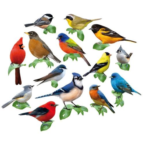 rompecabezas de pájaros cantores multiformas