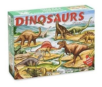 rompecabezas de piso,melissa y doug jumbo dinosaurios ji..
