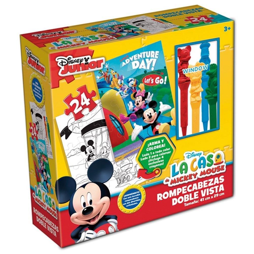Rompecabezas Doble Vista Con Crayones Disney Caja Carton - $ 129.00 ...