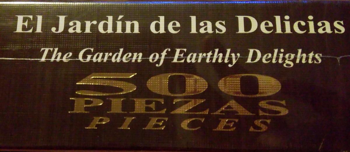 Rompecabezas el jardin de las delicias el bosco de for Bosco el jardin de las delicias