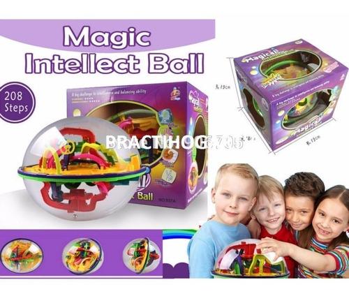 rompecabezas en 3d magical intellect ball,didactico,208 dif.