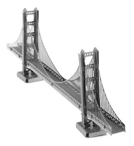 rompecabezas en 3d puente golden gate (acero) envio gratis