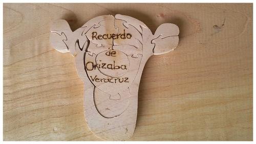 rompecabezas en madera /juguetes didácticos/ recuerdos